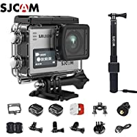 SJCAM SJ6 Kit (Including Extra Battery,Waterproof Remote Control)Dual Screen 2″ LCD Touch Screen 2880×2160 Novatek NT96660 Panasonic MN34120PA CMOS 4K Ultra HD Sport DV Action Camera