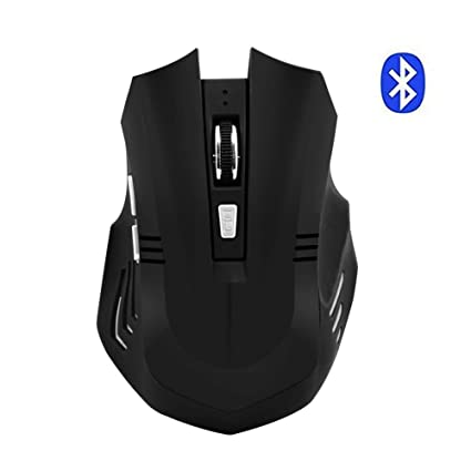 f13b727a8d8 Bluetooth Wireless Mouse,Rechargeable Silent Mouse with 3 Adjustable DPI, 6  Buttons Mice for