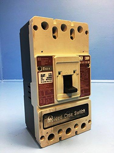 Cutler-Hammer KD3400KW 400A Molded Case Switch Breaker 600V Westinghouse 400 Amp