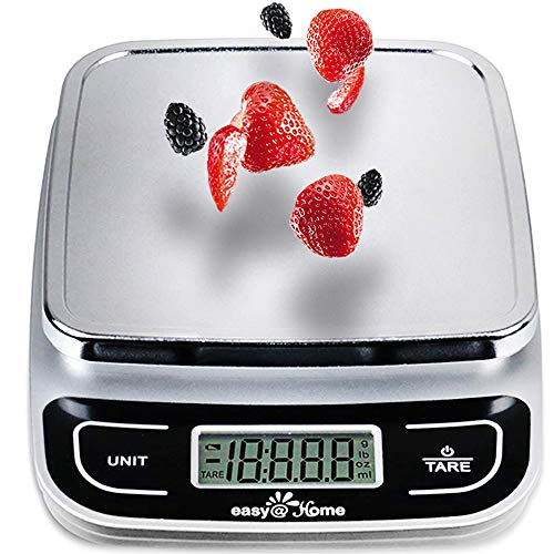 Kitchen Scale, Easy@Home Digital Food Scale with High Precision to 1g and 5 kgs Capacity, Digital Multifunction Measuring Scale, CK772