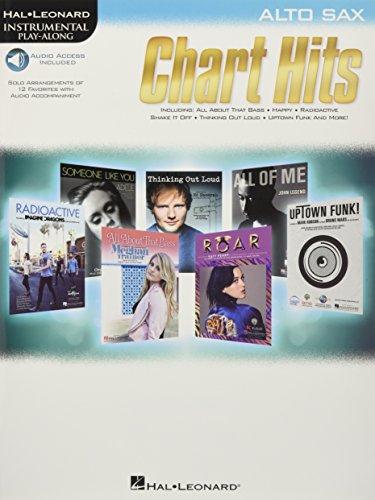 Chart Hits: Alto Sax (Hal Leonard Instrumental Play-along) (Hal Download Leonard)