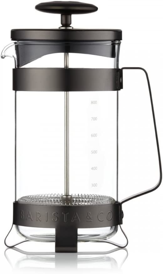 Barista & Co 1000 ml/(1 L, Acero Inoxidable/Cristal de ...
