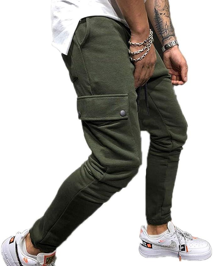 Pantalón de algodón para Hombre Hip-Hop Hip Hop Pantalones de ...