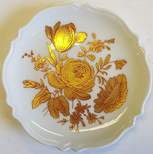 - Limoges New Authentic Signed Porcelain Hand Painted Small Plate (Made in France)