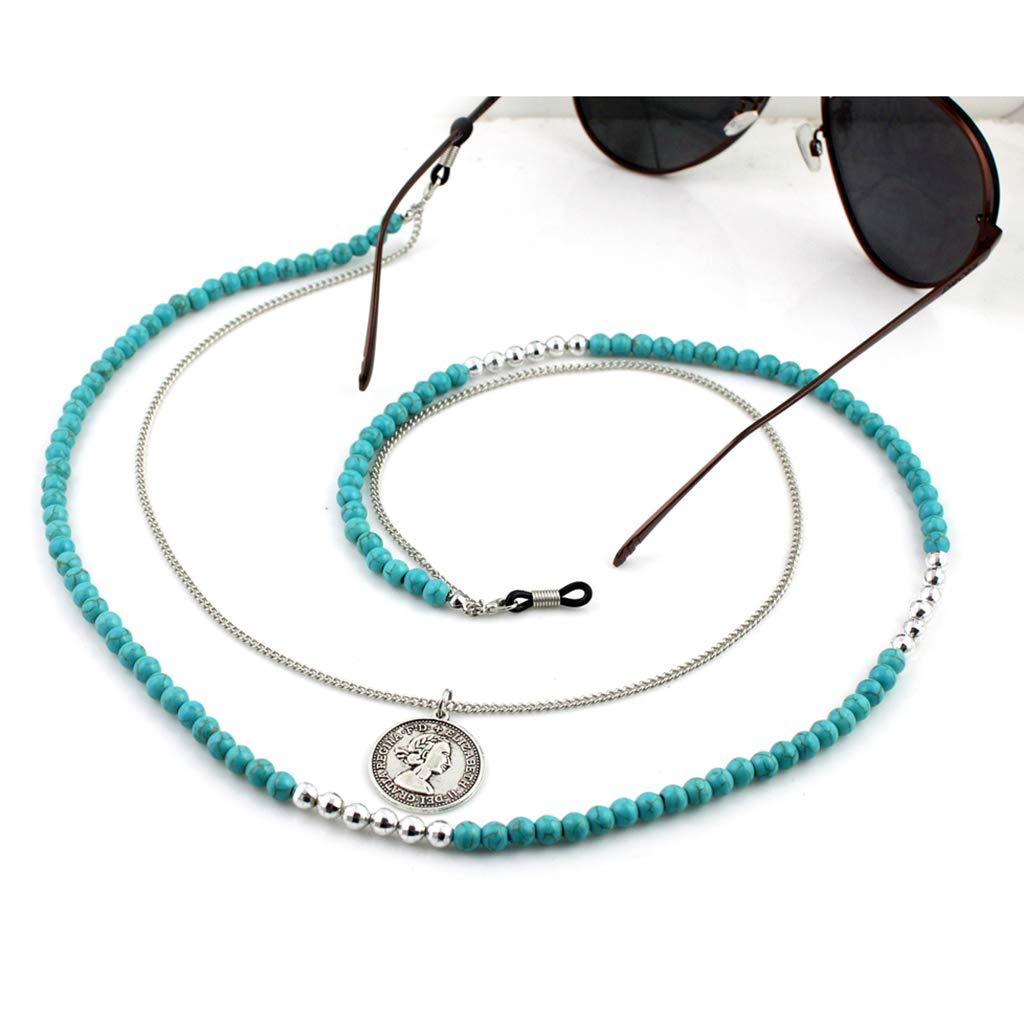 ZOOMY Gafas de Lectura Cadena Gafas de Sol Titular Correa para el Cuello Cuerda Collar Colgante