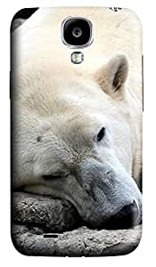 Samsung Galaxy S4 I9500 Cases & Covers - Sleeping Dog Bear Custom PC Soft Case Cover Protector for Samsung Galaxy S4 I9500
