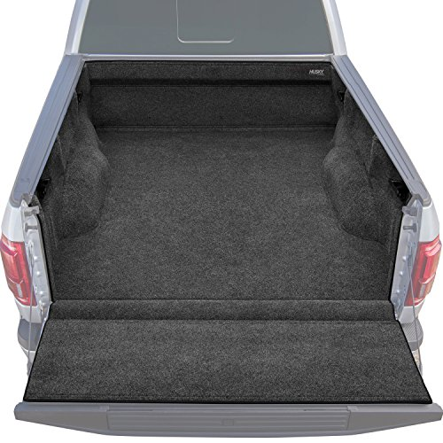 (Husky Liners 11061 Charcoal Ultra Fiber Full Truck Liner Fits 2017-19 Ford F-250/F-350 8' Bed)