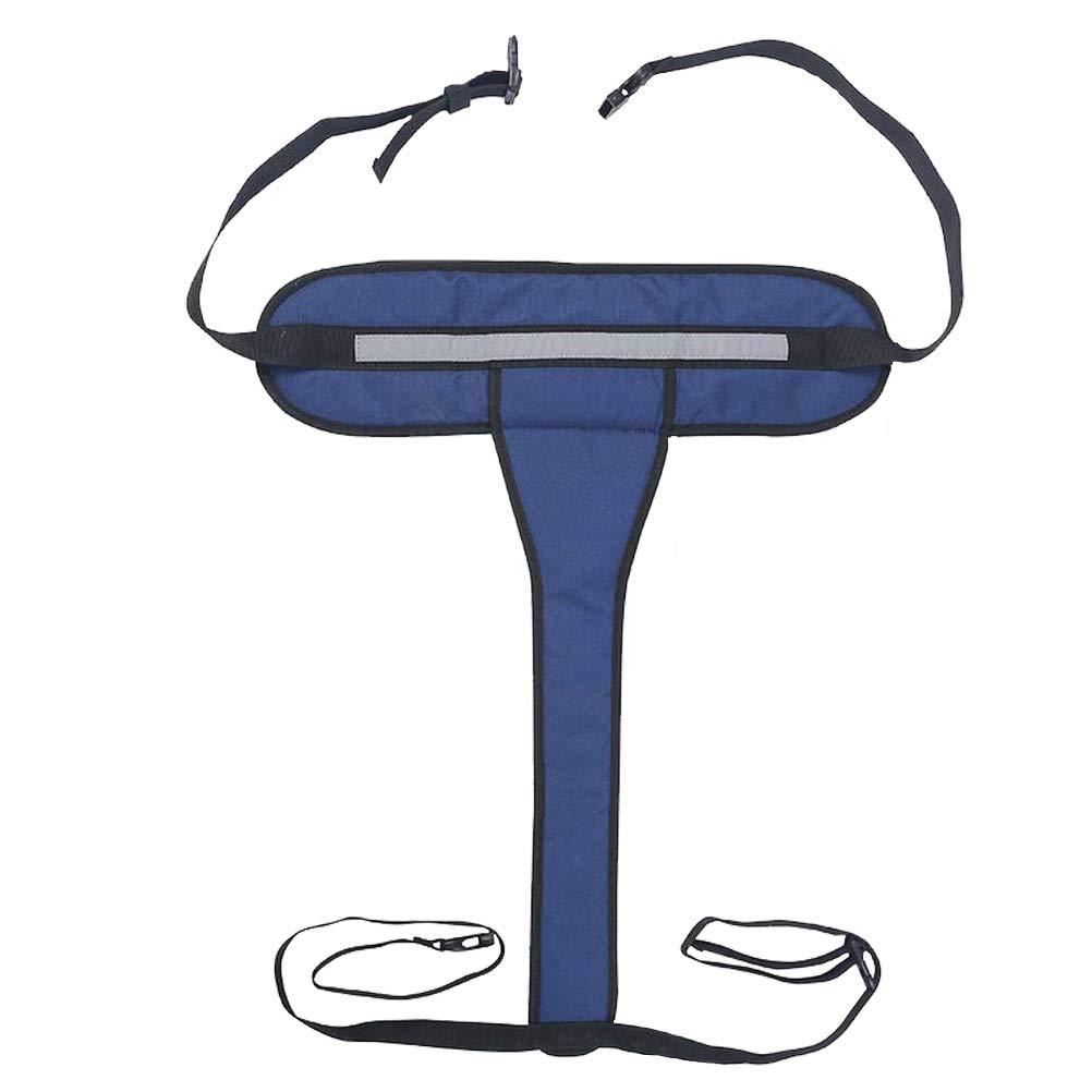 HEALLILY cintura di sicurezza per sedia a rotelle cinghia per sedia a rotelle antiscivolo regolabile cinturini in vita per pazienti anziani