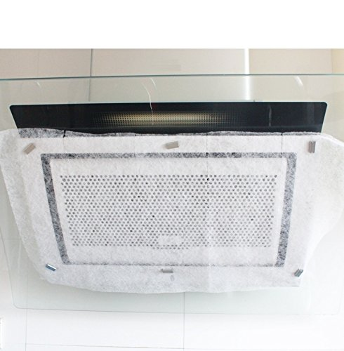 Expert Hood Liner - Cindy&Will 1Roll Ktichen Smoke Exhaust Fan/Range Hood/Extractor Fan Machine Ventilator Stain Resistant Oil Pollution Protected Paper