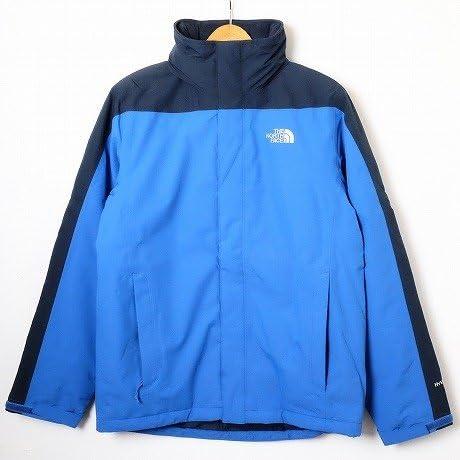 Amazon Co Jp Genuine Product The North Face Hyvent Nylon Jacket Hyvent Nylon Jacket Navy X Blue S Clothing Accessories