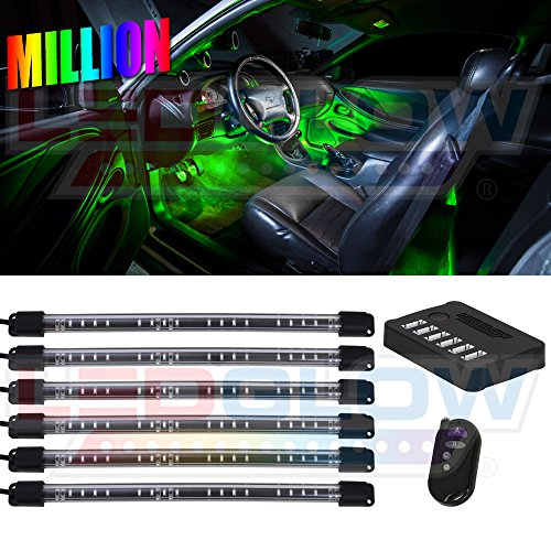 LEDGlow Flexible Underdash Footwell Multi Color product image