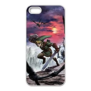 the legend of zelda twilight princess iPhone 5 5s Cell Phone Case White PSOC6002625712119