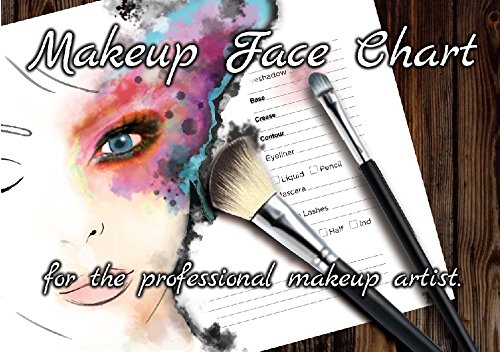 Download The Face Charts For Makeup Artists Note Workbook, Makeup Book I PDF