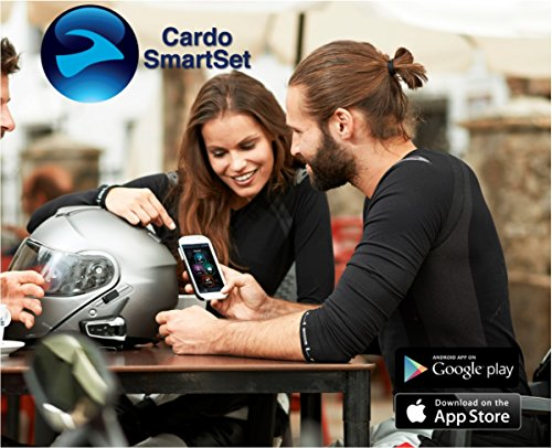Cardo FRC10002 scala rider FREECOM 1 - Bluetooth 4.1 Motorcycle Communication System with HD Audio for Solo Riders by Cardo (Image #2)
