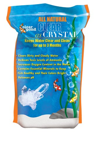 - Pond Clear Clear as Crystal Water Clarifier, 5-Pound Bag