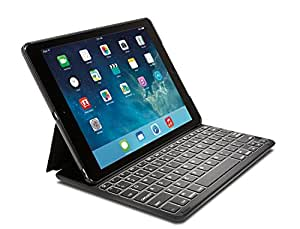 Kensington KeyFolio Thin X2 Plus Backlit iPad Air 2 Bluetooth Keyboard Case (K97391US)
