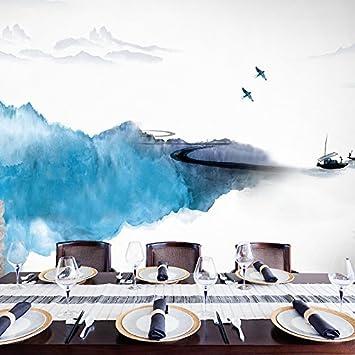 Moderne 3d jardin minimaliste mur fleurs murales papier télé du ...