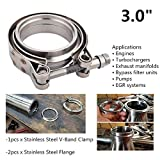 EVIL ENERGY 3 Inch Stainless Steel Exhaust V Band