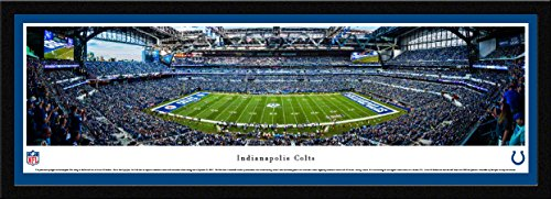 (Indianapolis Colts - 50 Yard - Blakeway Panoramas NFL Posters with Select Frame )