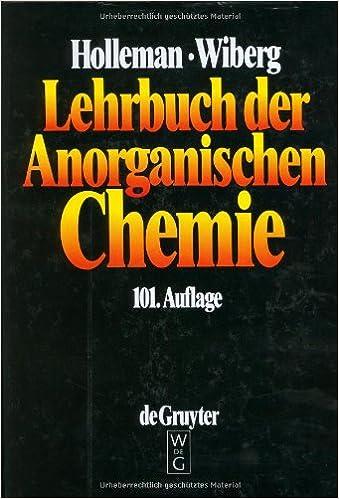 Lehrbuch der anorganischen chemie amazon arnold fr holleman lehrbuch der anorganischen chemie amazon arnold fr holleman egon wiberg bcher fandeluxe Gallery