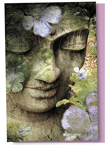 Buddha Greeting Cards - Inner Tranquility Buddha Blank Boxed Note Cards with Envelopes, All Occasion (12 Count), Inspirational Zen Notecards, FS66489 Tree-Free Greetings