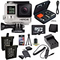 GoPro HERO4 Black Edition 4K Action Camera Camcorder 16GB Bundle 4
