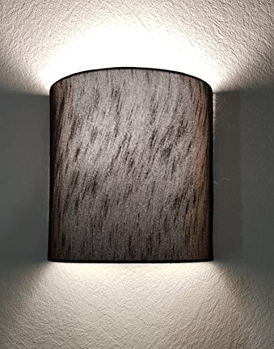 Mufasa Wall Mounted Lamp Lights Half Shade Bedside Fabric Lampshade Sconces - with B22 Holder and Warm White Bulb (Beige) (B07RJTG42W) Amazon Price History, Amazon Price Tracker