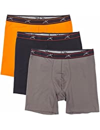 "Men's Silkskins 6"" Boxer Briefs with Pouch (Pack of 3)"