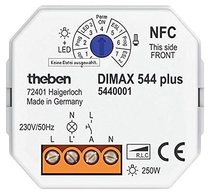 Theben 5440001 - Dimmer universal dimax 544 plus