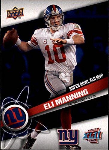 Manning Eli Mvp - 2008 Giants Upper Deck Super Bowl XLII #MVP1 Eli Manning MVP