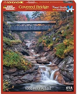product image for American Covered Bridges 1000 Piece Jigsaw Puzzle
