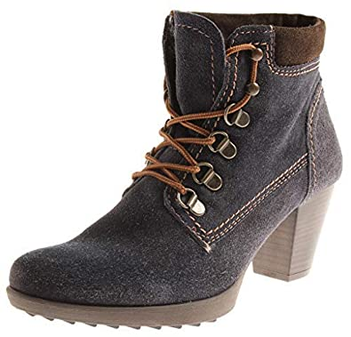 graue ankle boots tamaris