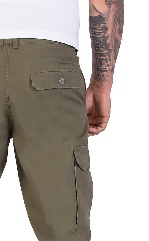 Pantalones Chinos para Hombre con Bolsillos Laterales Rock Creek H-194