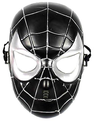 Spider 5 Noir Déguisement Costume Super Ans Héros Halloween Enfants 8 man Carnaval Masque 4Pqz14