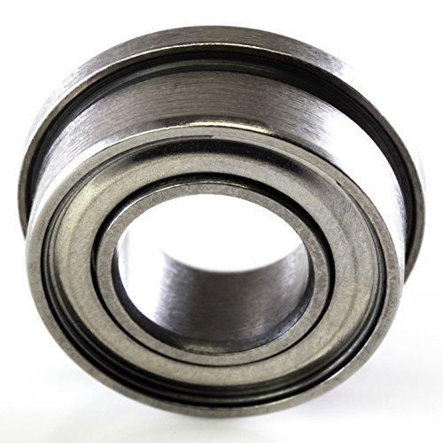 0.31 Width sourcing map a12111600ux0212 Roller-Skating Skateboard 6000Z Flanged Ball Bearing 10mm x 26mm x 8mm 0.39 Stainless Steel