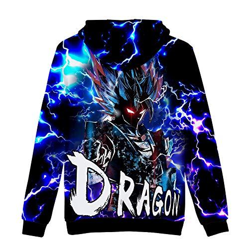 xxxl Homme Sweats Imprimé Dragon Xxs Ball 01 À Capuche Ado Ctooo zPc7AqA