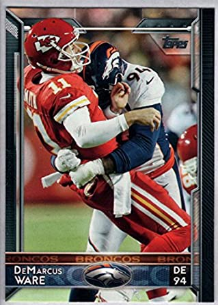 san francisco 162b4 cbc94 Amazon.com: Football NFL 2015 Topps #66 DeMarcus Ware ...