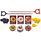 beyblade battle gear - Beyblade Shogun Steel Battle Tops Fire Team Set