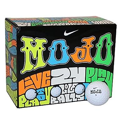 Nike Mojo Double Dozen White Golf Balls