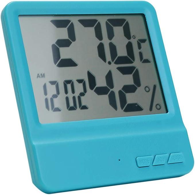 KKmoon Temperatura Humedad Medidor Higrómetro Digital Termómetro ...