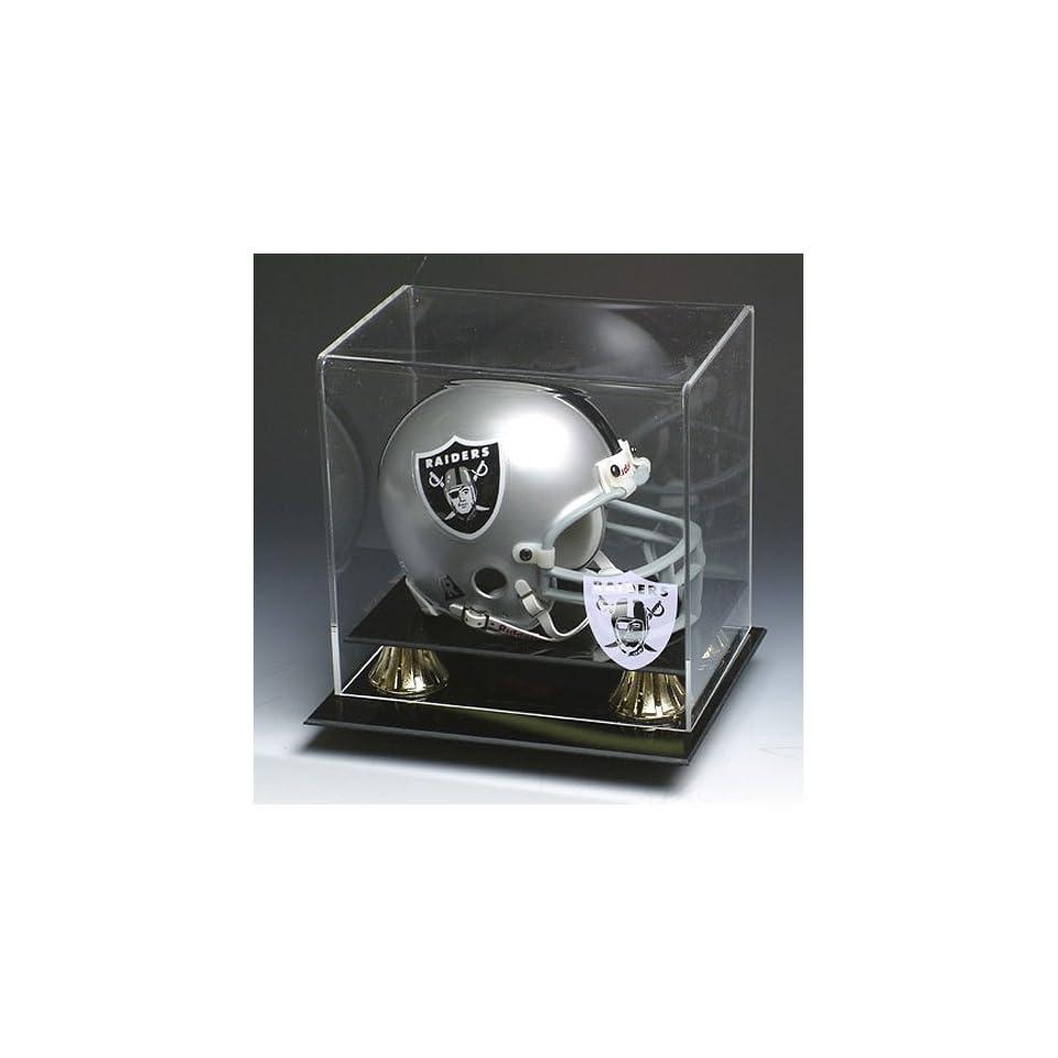Oakland Raiders NFL Full Size Football Helmet Display Case
