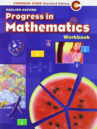 Progress in Mathematics: Work Book Grade 5
