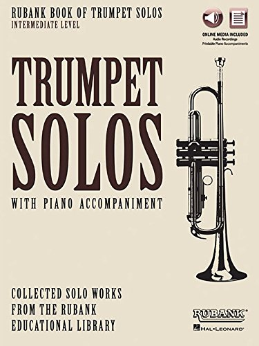 Rubank Book of Trumpet Solos - Intermediate Level: Book with Online Audio (stream or download)