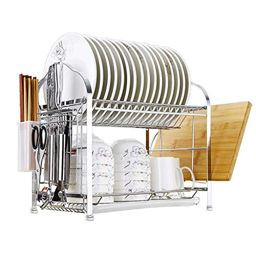 (DYR Cutlery Shelves Stainless Steel Multi-Layer Rack K chenregal Storage Compartment Crockery Basket)