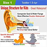 WaterDam Swimming Ear Plugs for Baby Infants