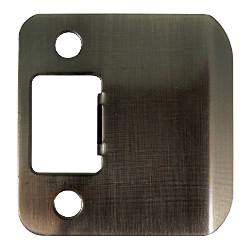 Stone Harbor Hardware 50175-5 Extended Lip Strike Plate with 1.75