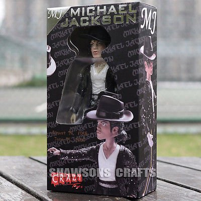 "TONGROU KING OF POP MICHAEL JACKSON DOLL 8"" ACTION FIGURE ST"