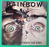 RAINBOW Straight Between The Eyes LP Vinyl & Cover VG+ 1982 Lyrics SRM 1 4041