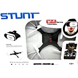 FPV Quadcopter Drone with Wifi-Camera w/3D VR Headset Live Video Headless Mode 2.4GHz 4 Chanel 6 Axis Gyro 360 Flip Stunts (Black)