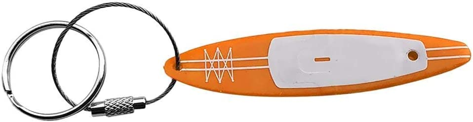 Lightweight /& Durable-Yellow SUP SGerste Kayak Canoe Ocean Boat SUP Keychain//Keyring